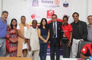 RCLI ,Airtel organise Blood donation camp